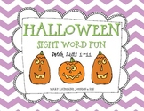Halloween Game Board {Dolch Sight Words Lists 1-11}