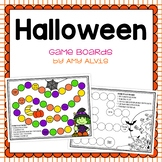 Halloween Game Boards