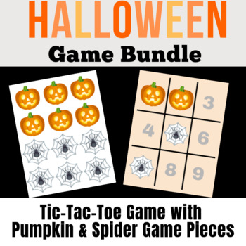 Halloween Game Bundle | Find-A-Star, Memory, Tic-Tac-Toe & Stars | VIPKid