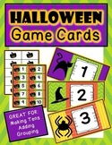 Halloween Number Cards: Great for Making Tens, Addition an
