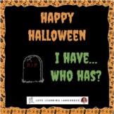 Halloween Game - I have...Who has?