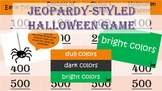 Halloween Game (Jeopardy-Style)