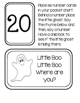 Halloween Game - Little Boo, Little Boo. Where Are You?