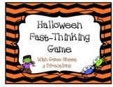 Halloween Game {Grades 3-12}
