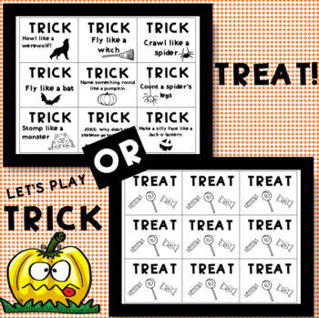 Halloween Game:  Trick or Treat!