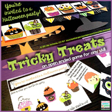 Halloween Game Tricky Treats |  speech therapy game