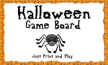 Halloween Gameboard