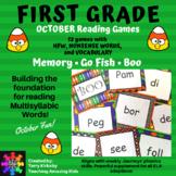 Halloween Games:  1st Grade Journeys