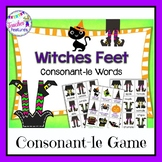 Halloween Games | CONSONANT -LE  (Cle) WORDS