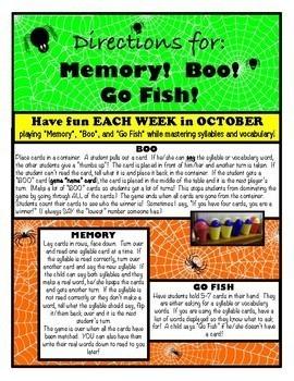 Halloween Games – 3rd Grade Journeys