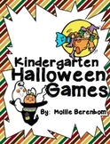 Halloween Games:  Kindergarten