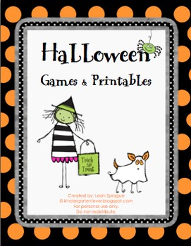Halloween Games & Printables
