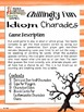 Halloween Games & Puzzles - Sample Freebie for Middle & Secondary ELA