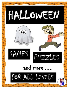 Halloween Games, Puzzles and More!