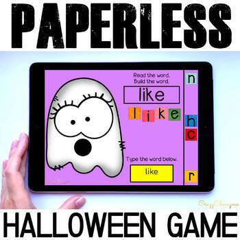 Halloween Games Kindergarten | Google Classroom Activities