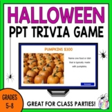 Halloween Activities | Trivia Game