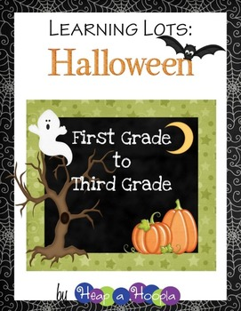Halloween Games and Activities for First, Second and Third grades