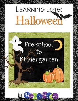 Halloween Games and Activities for Preschool & Kindergarten