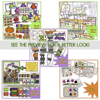 Halloween Activities and Games for Your Halloween Class Party