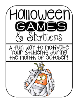 Halloween Games and Stations