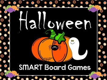 Halloween Games for SMART Board