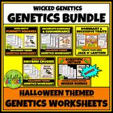 Halloween Genetics Worksheet Bundle