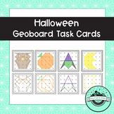 Halloween Geoboard Task Cards