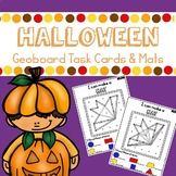 Halloween Geoboards Task Cards and Mats