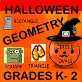 Halloween Geometry for Grades K-2
