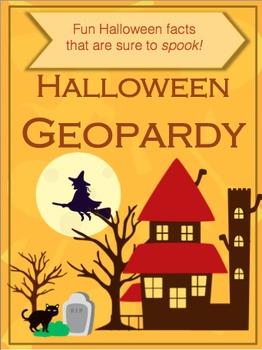 Halloween Geopardy (a Jeopardy style game)