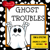 Halloween Ghost Early Reader Literacy Circle