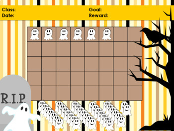 Halloween Ghost Classroom Behavior Management System *PowerPoints