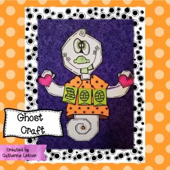 Halloween Craft, Fall Craft, Ghost Craft
