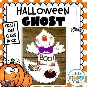 Halloween Crafts: Ghost & Class Book: Halloween Crafts: October Crafts