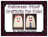 Halloween Ghost Craftivity For Kids!