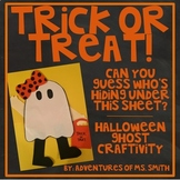 Halloween Ghost Craftivity