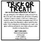 Halloween Ghost Craftivity