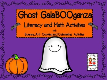 Halloween--Ghost GalaBOOganza-Literacy and Math Activities with SACC