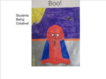 Halloween Ghost Graph for the Coordinate Plane
