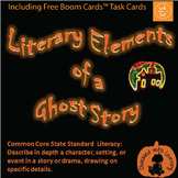FREE Halloween  Literary Elements of a Ghost Story PowerPo