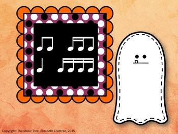 Halloween Ghost Rhythm - Combo Sixteenth Note