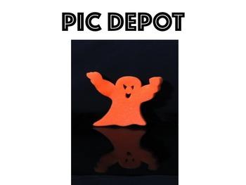 Halloween Ghost Stock Photo