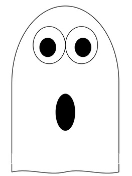 Halloween Ghost Stories Writing Template