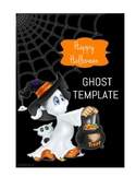 Halloween Ghost Template
