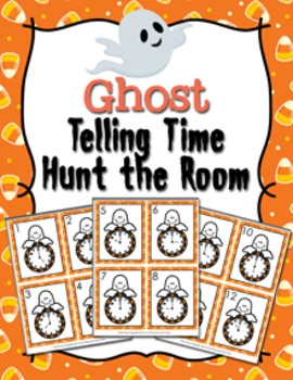 Halloween Ghost Time to the Hour Hunt the Room