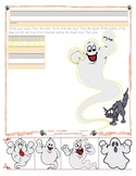 Halloween Ghost Trace and Cut - Fine Motor Skills Practice
