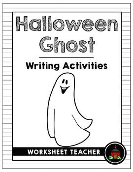 Halloween Ghost Writing Activities