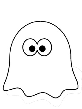 Halloween Ghost Writing Booklet