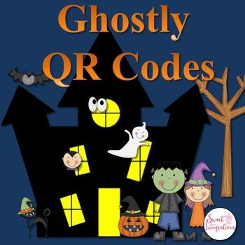 Halloween Ghostly QR Code Activities