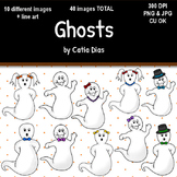 Halloween - Ghosts Clip Art